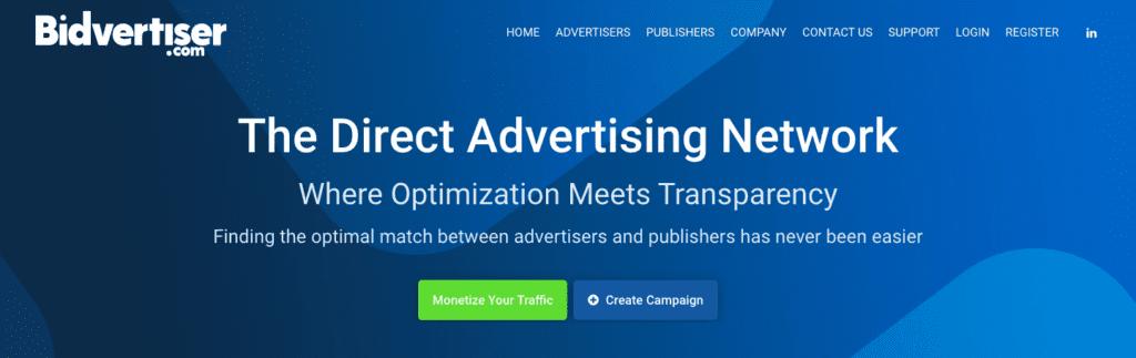 bidvertiser is best google adsense alternatives.