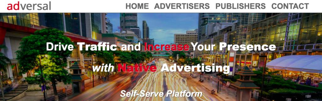 adversal is the best google adsense alternatives