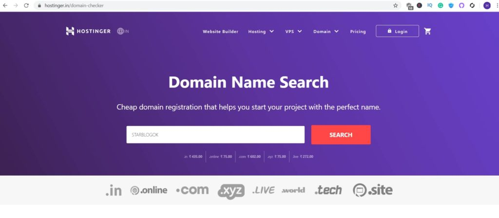 register a domain from hostiner , Step By Step Guide,