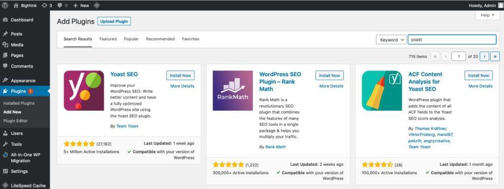 Blogging kaise suru kare , plugin install